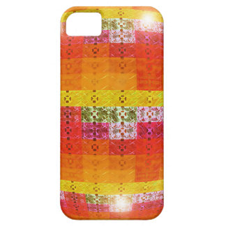 Orange Disco Ball Pattern iPhone 5 Cover