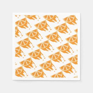 Orange Disposable Napkin