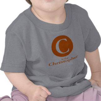 Orange Dot: Initial/name Shirts