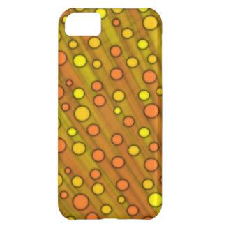 Orange dots iPhone 5C case