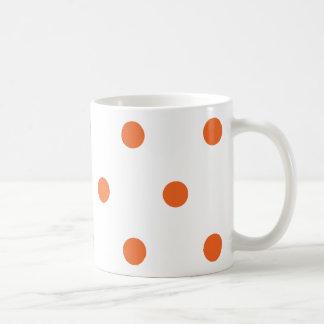 Orange Dots Mugs
