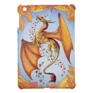 Orange Dragon of Autumn Nature Fantasy Art iPad Mini Covers
