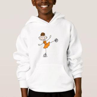 Orange Dress Figure Skater Tshirts and Gifts