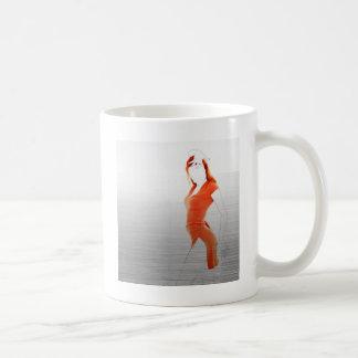 Orange Dress Coffee Mugs