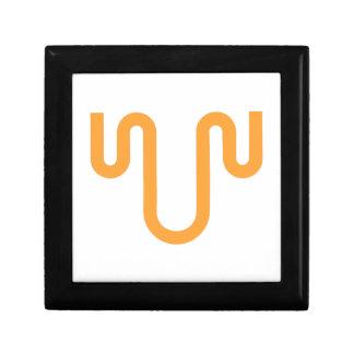 Orange Dripping Design Gift Box