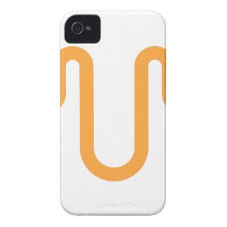 Orange Dripping Design iPhone 4 Case