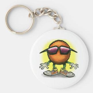 Orange Dude Key Ring