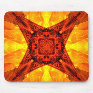 Orange Energy Mouse Pad