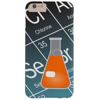 Orange Erlenmeyer (Conical) Flask Chemistry Barely There iPhone 6 Plus Case
