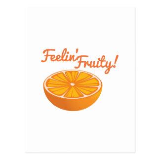 Orange_Feelin  Fruity Postcard
