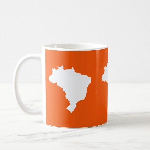 Orange Festive Brazil at Emporio Moffa Mugs