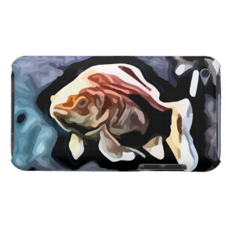 orange fish deep swimming painting iPod touch Case-Mate case