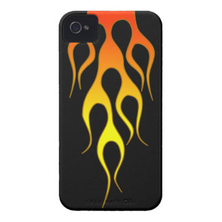 Orange Flame iPhone 4 Case