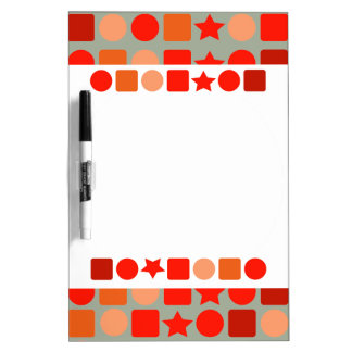 Orange-Flavored Fancy Dry Erase Board