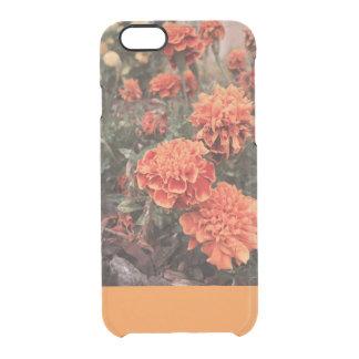 Orange Floral iphone Case