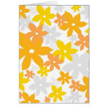 Orange florals cards