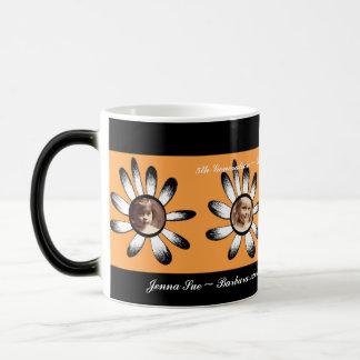 Orange Flower Frames Mug