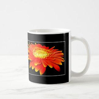 Orange Flower (Gerbera Daisy?) Coffee Mugs