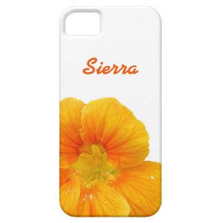Orange Flower iPhone 5 Cover