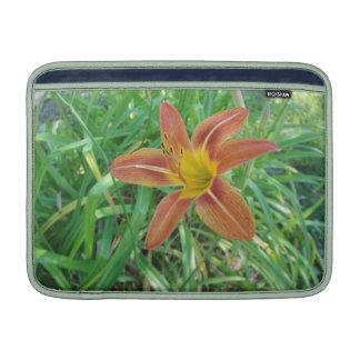 Orange Flower Mac Book Air 13 Sleeve MacBook Sleeves
