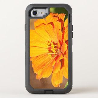 Orange Flower OtterBox Defender iPhone 8/7 Case