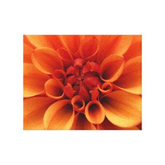 Orange Flower   Photo Design Canvas Print