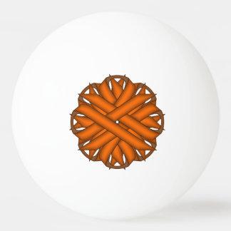 Orange Flower Ribbon by Kenneth Yoncich