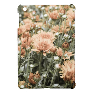 Orange flowers agedorange iPad mini cases