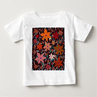 Orange flowers baby T-Shirt