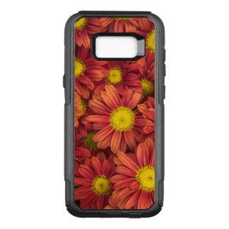 Orange Flowers OtterBox Commuter Samsung Galaxy S8+ Case