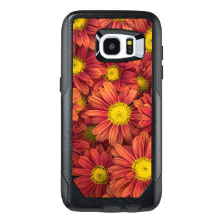 Orange Flowers OtterBox Samsung Galaxy S7 Edge Case