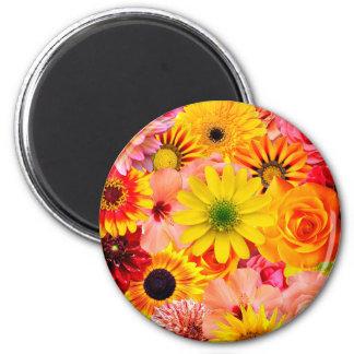 Orange flowers_ Sanchez Glory Magnet