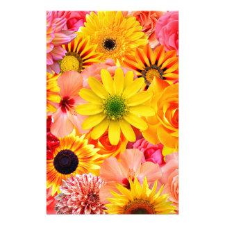 Orange flowers_ Sanchez Glory Stationery