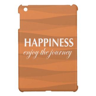 Orange for Happiness iPad Mini Case