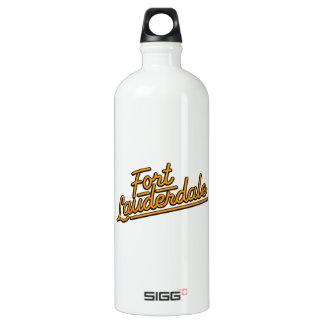 orange Fort Lauderdale SIGG Traveller 1.0L Water Bottle