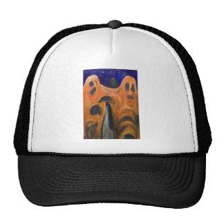 Orange Fraternity (distortion expressionism) Cap
