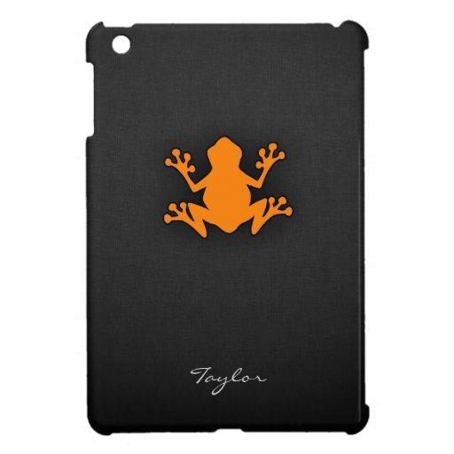 Orange Frog iPad Mini Covers