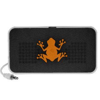 Orange Frog iPod Speaker