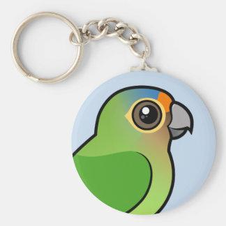 Orange-fronted Parakeet Key Ring