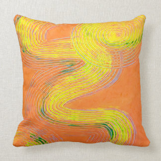 Orange Frosting Large Pillow