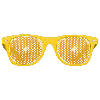 Orange Fruit Fresh Slice - Sunglasses Party Shade