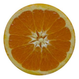 Orange Fruit Custom Invitations