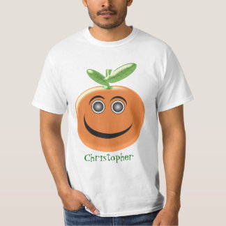 Orange Fruit Just Add Name T-Shirt