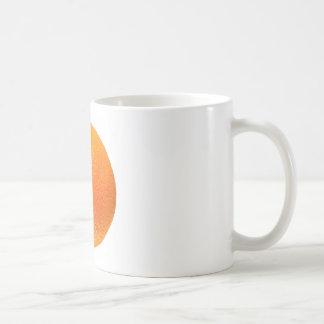 Orange fruit coffee mugs