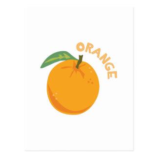 Orange Fruit Postcard