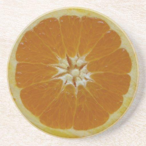 Orange Fruit Slice Coasters