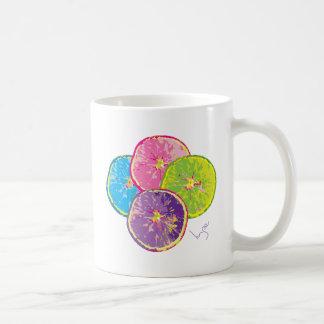 Orange Fruit Slices Pop Art Coffee Mug