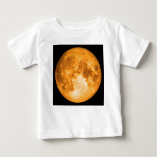 orange full moon baby T-Shirt