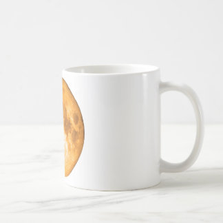 orange full moon coffee mug