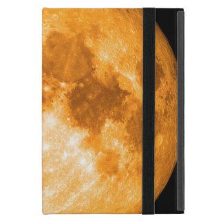 orange full moon cover for iPad mini